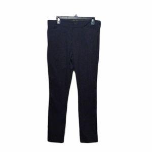 Worthington Slim Fit Black Pants Size 12 L EUC